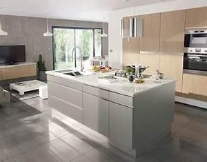 style lounge dans la cuisine ouverte castorama With palette couleur peinture mur 14 amenagement optimise et deco pour ma cuisine ouverte