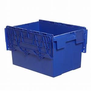 Bac Plastique Ajouré : bac en plastique ajour 65 l avec couvercle mjpro ~ Edinachiropracticcenter.com Idées de Décoration