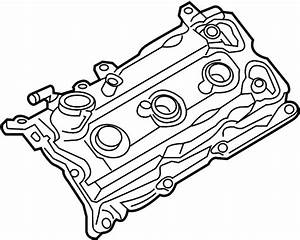 Nissan 350z Engine Valve Cover  Left  Liter  Hybrid