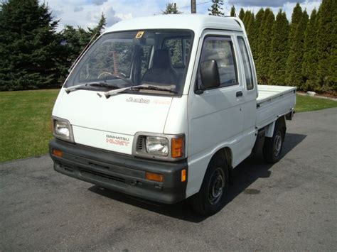 Daihatsu Mini Trucks by J Cruisers Jdm Vehicles Parts In Canada 1991 Daihatsu