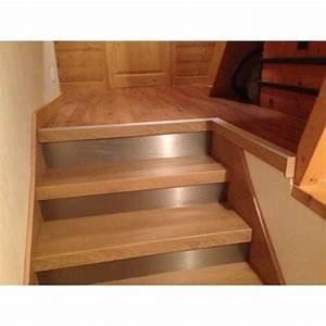 Recouvrir Escalier Béton : habillage escalier b ton d cor ch ne miel st martin de ~ Premium-room.com Idées de Décoration