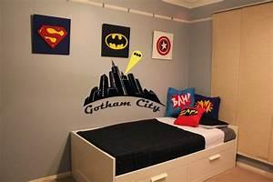 Themed Kids Bedroom Design Superhero ~ NUNUDESIGN