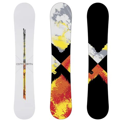 Burton Custom X Channel Snowboard 2010 | evo
