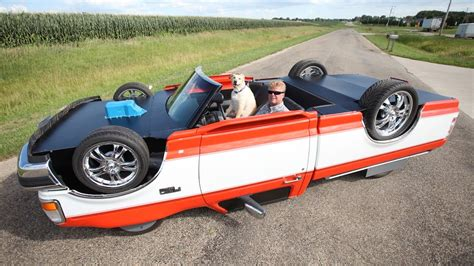 Would You Dare Drive An Upside Down Car?