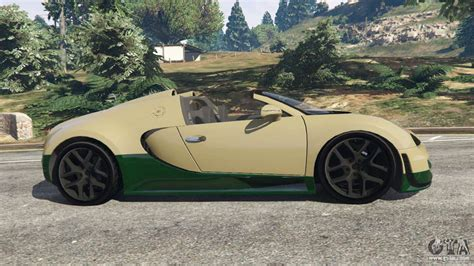 The bugatti veyron (aka truffade adder) is new to the gta series making its debut in grand theft auto 5 and gta online. Bugatti Veyron Grand Sport Vitesse for GTA 5