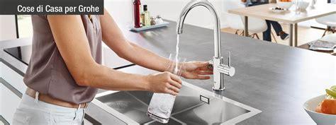 acqua gassata dal rubinetto di casa grohe blue 174 home dal rubinetto anche acqua filtrata