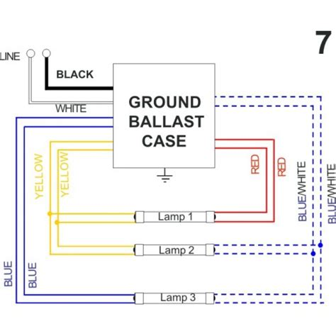 Bulb Ballast Wiring Diagram Sample