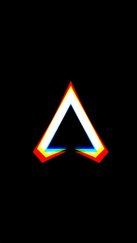 apex legends logo dark background  ultra hd mobile wallpaper