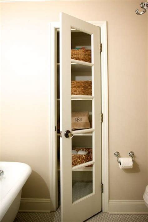 Closet In The Bathroom by Linen Closet Transitional Bathroom Companies