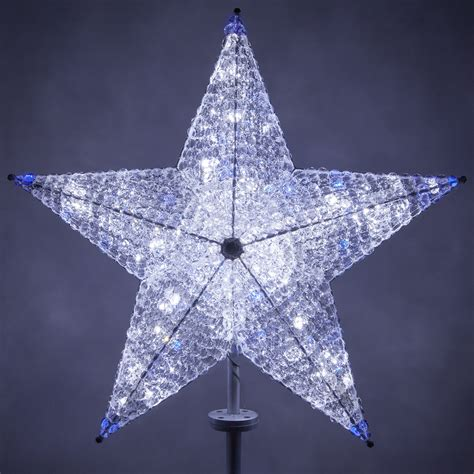 christmas decorations  shimmering cool white blue
