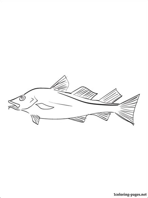 fish coloring page coloring pages