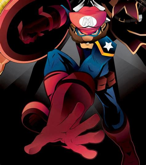 Nintendo Characters As The Avengers Randommization