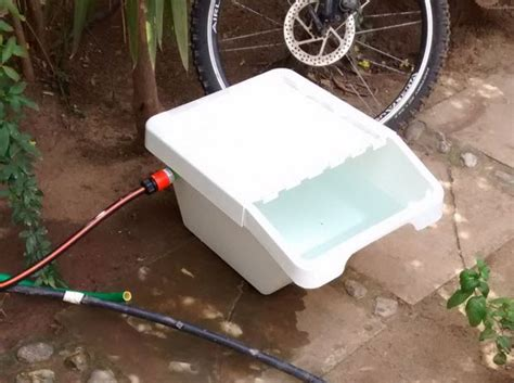 auto fill water bowl diy auto fill water bowl petdiys 7521
