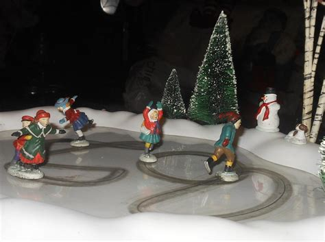 deprtment 56 animated skating pond part 2 collectors weekly