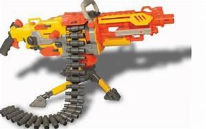 Nerf Machine Gun  Reveiw