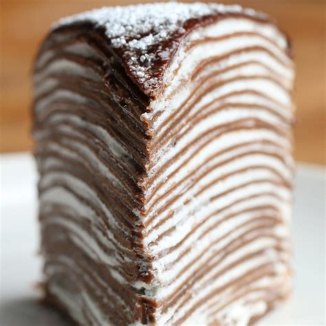 Mille Crepe Cake Recipe by Tasty