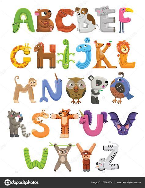 3 letter animals animado abecedario abecedario zoo alfabeto animal 20059   depositphotos 179963604 stock illustration zoo alphabet animal alphabet letters
