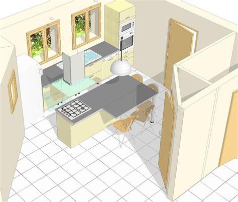 implantation de cuisine implantation d 39 une cuisine avec ilôt votre avis merci
