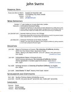 resume format college student internship 8 good cv template for students basic job appication letter