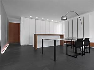 Dining Table Lighting Minimalist Home in Lugano