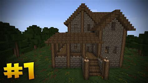 minecraft tutorial   build  medieval house iammrfostercom
