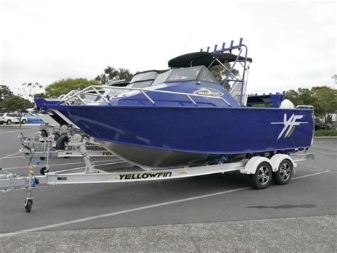 Quintrex Yellowfin Boats by Quintrex 5800 Yellowfin Cabin Boat Jv Marine Melbourne