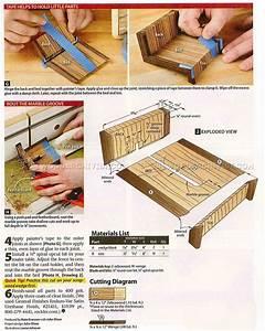 #2313 Wooden Business Card Holder Plans • WoodArchivist