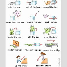 Prepositions Of Movement  Vocabulary Englishclub