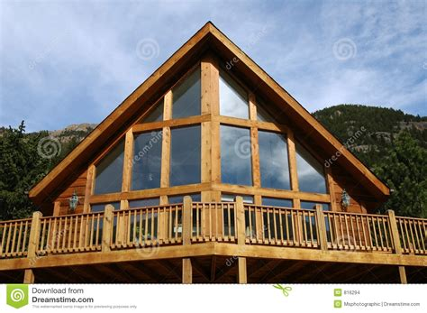 what is an a frame house a frame cabin stock photo image of housing home