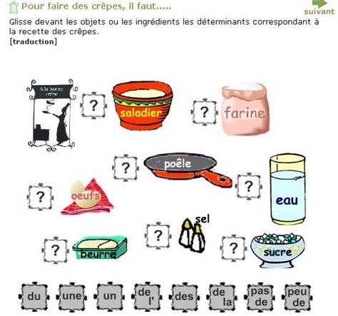 cuisiner pour les enfants article partitif pour la classe de fle teaching