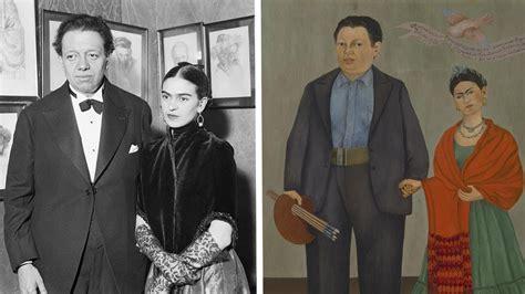 Frida Kahlo And Diego Riveras Wedding Portrait Youtube