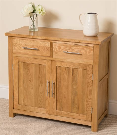 Sideboards Cabinets by Oslo 100 Solid Oak Small Sideboard Cabinet Storage Unit