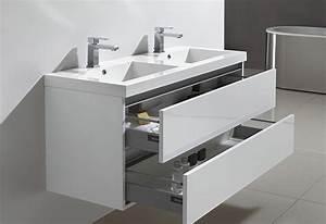meuble salle de bain tiroir coulissant meuble salle de With porte de douche coulissante avec meuble salle de bain decotec bento