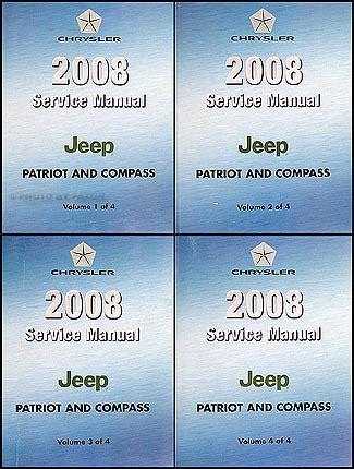 manual repair free 2008 jeep compass auto manual 2008 jeep patriot compass repair shop manual set original 4 vol set