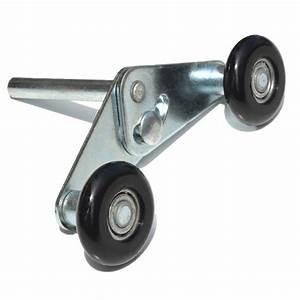 Roulette tandem pour porte de garage sectionnelle for Roulette pour porte de garage sectionnelle
