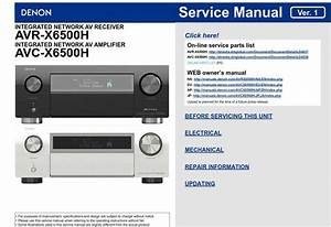 Specifications Adjustments Special Mode Diagnostic Mode
