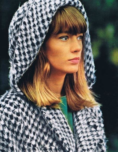 Hardy's style retains its sense of freshness and provocation because it was so original, a young craving more street style inspiration? En français svp — Françoise Hardy, 1964.   French girl ...