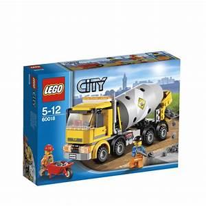 LEGO City: Cement Mixer (60018) Toys Zavvi com