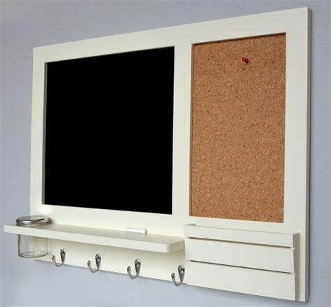 large white memo board chalkboard  cork board organiser