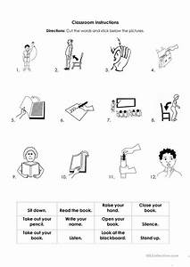 60 Free Esl Instructions Worksheets