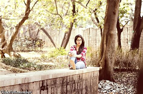 Model Photography In Bangalore  Outdoor Portrait