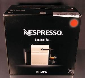 Nespresso Inissia Krups : krups nespresso inissia xn1005 ruby red kapselmaschine rot ~ Melissatoandfro.com Idées de Décoration