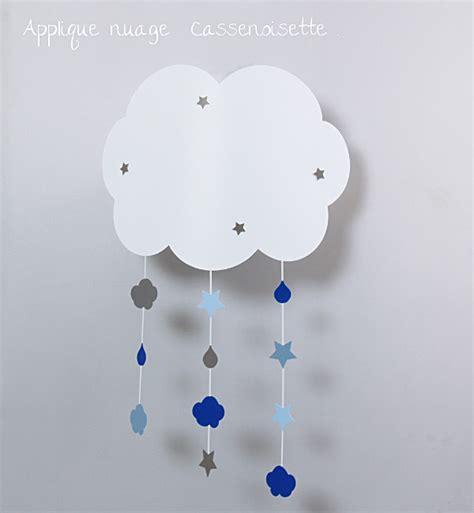 applique chambre bebe applique nuage bb pour rver fabrique casse noisette