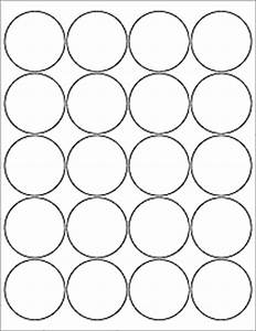 Round labels circle labels ol5375 2quot circle for 2 round label template 20 per sheet