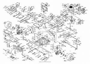 Dixon Ztr 4516k  1999  Parts Diagram For Chassis