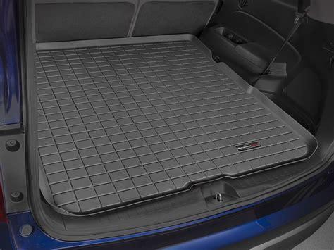 weathertech floor mats honda pilot 2017 weathertech cargo liner trunk mat for honda pilot 2016 2017 large ebay