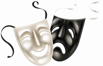 Theatre Clipart Faces Drama Mask Clip Clipartmag