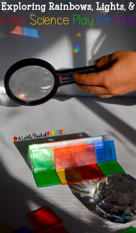 color science exploring rainbows lights and color science play for