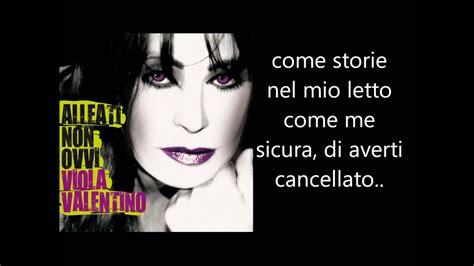 Testo Stronza by Viola Valentino Stronza Testo Lyrics