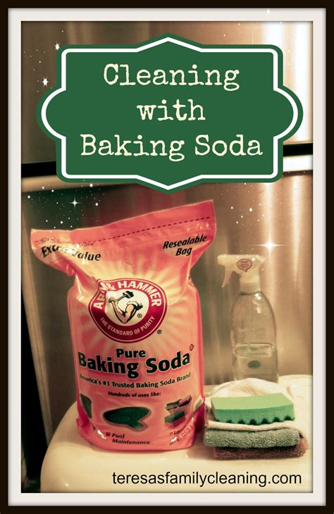 how can you use baking soda to clean